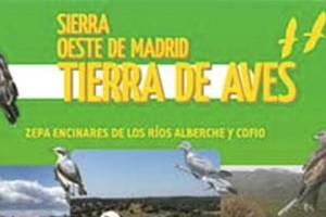 Aves Observables y Rutas Ornitológicas Sierra Oeste de Madrid