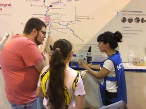 Algakon Feria de la Ciencia talleres EMASESA muestreo