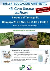 Algakon Taller ciclo del agua Tamarguillo abril 18