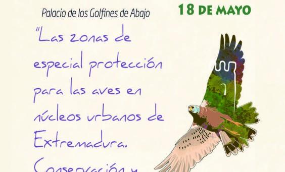 Festival Aves Cñaceres Visita obras LIFe ZEPA Urban Algakon