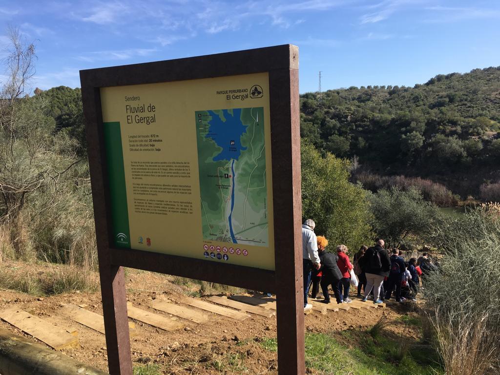 reforestacion participativa rio rivera de Huelva Algakon