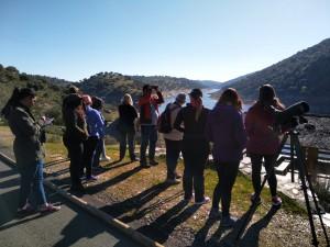 curso guias de naturaleza algakon Monfragüe