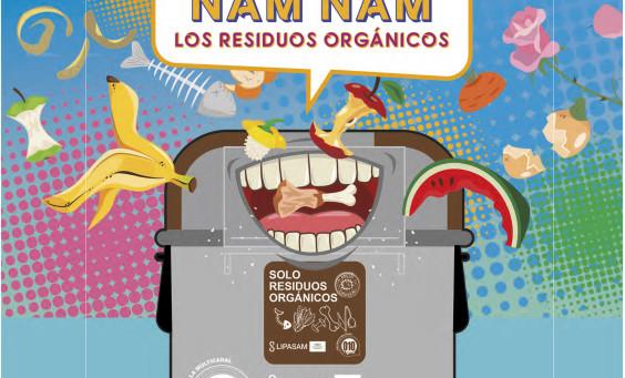 campaña biorresiduos Sevilla Algakon Lipasam