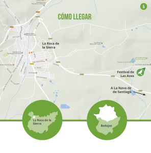 donde se celebra el festival de Aves de La Roca