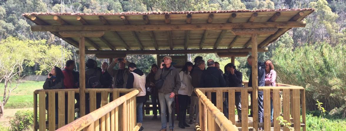 observatorio de aves Algakon
