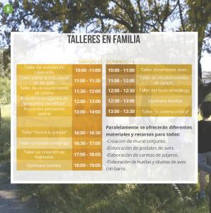 talleres en familia Festival La Roca 2019