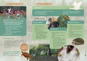 programa educacion ambiental laguna Fuente del Rey Algakon folleto2